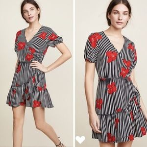 Madewell Bianca Ruffle Candied Orchards Dress